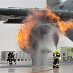 Fire Training Rig at Dubai International Airport