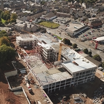 SRC Armagh Campus under construction