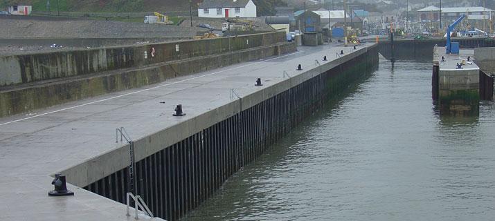 Remedial Works To South Pier Kilkeel Harbour