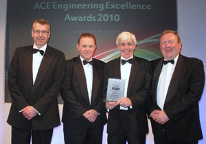 Doran Consulting received the 'Highly Commended Award' at the ACE Engineering Excellence Awards 2010 in London for the McClay Library at  the Queen's University, Belfast.